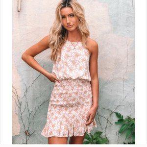 Smocked Halter Dress